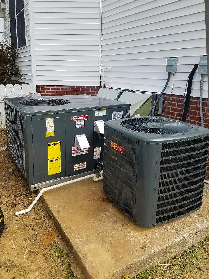 Goodman Heat/AC Install