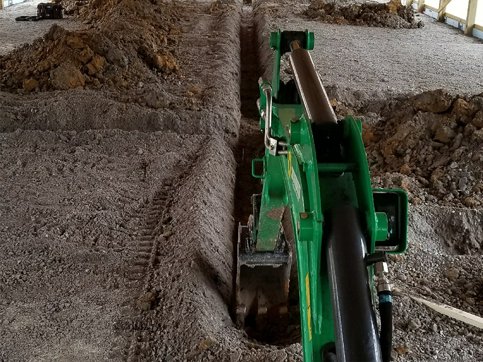 New Pipe Trench