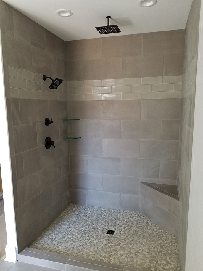 Custom Shower Install
